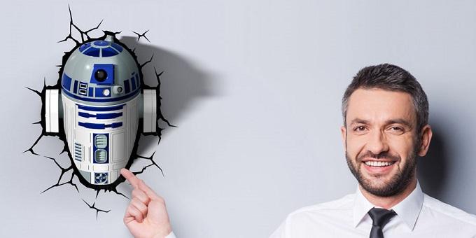 3DLIGHT R2-D2
