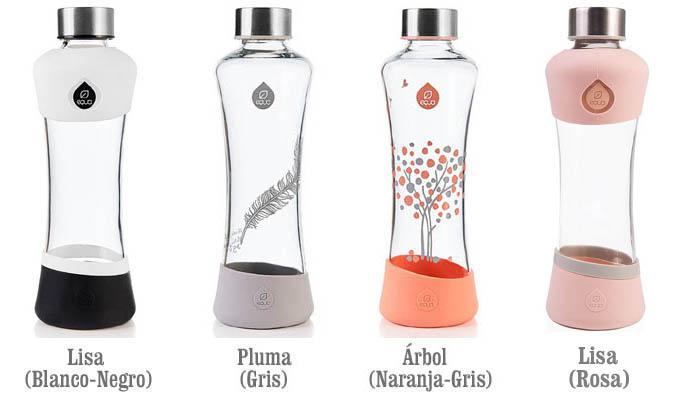 Comprar Botellas EQUA 550ml vidrio cristal