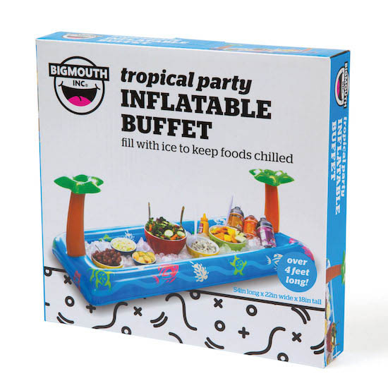 Comprar buffet inflable fiesta piscina