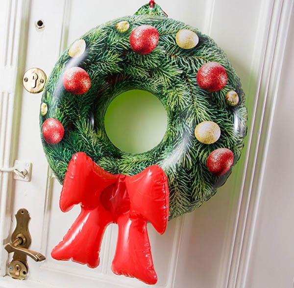 Comprar adorno navidad, corona inflable