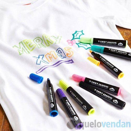 Rotuladores para pintar camisetas - Quelovendan