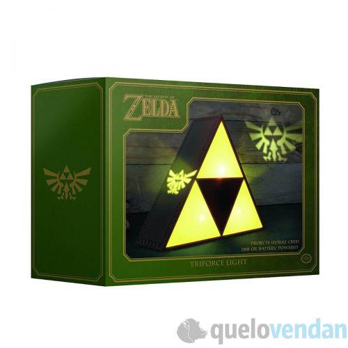 Lámpara Zelda Trifuerza proyector emblema Hyrule - Quelovendan 23f8e04bd8b