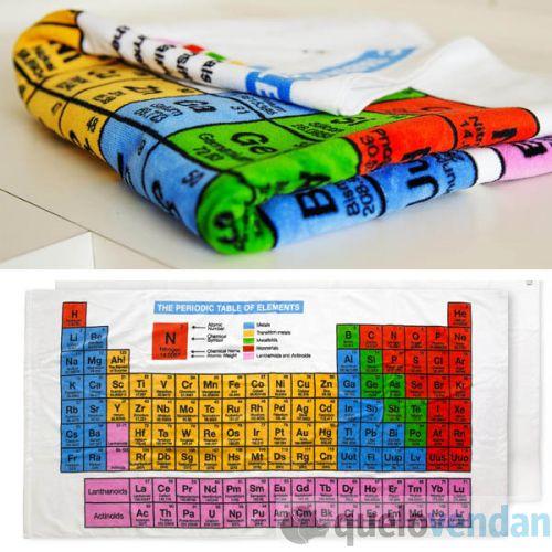 Toalla tabla peridica de los elementos quelovendan urtaz Choice Image