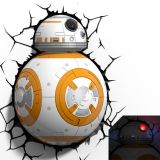 Lámpara ambiental 3D BB-8