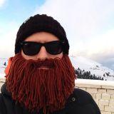Gorro con barba desmontable Vagabundo Bárbaro