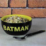 Set desayuno bol y cuchara Batman DC Comics