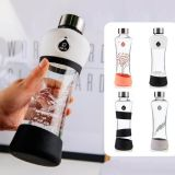 Botellas EQUA vidrio 550ml, en caja regalo