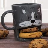 Taza Galletero Gatito hambriento