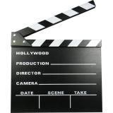 Claqueta de cine, grande (30 cm)