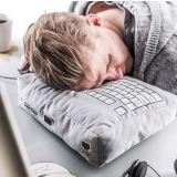 Cojín teclado para siestas de emergencia