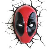 Lámpara de pared 3D Deadpool de Marvel