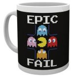 Taza Pac-Man Epic Fail