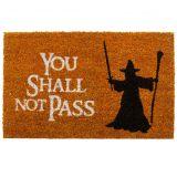 Felpudo Gandalf: You Shall Not Pass