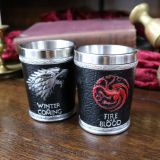 Chupitos artesanales premium de las casas Targaryen y Stark