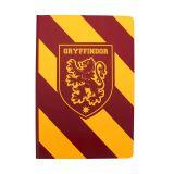 Libreta A5 rayas Gryffindor, de Harry Potter