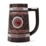 Jarra de cerveza Premium Targaryen, de Juego de Tronos