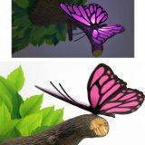 Lámpara ambiental 3D Mariposa