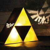 Lámpara Zelda Trifuerza proyector emblema Hyrule