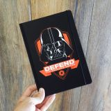 Libreta A5 Defend the galactic empire