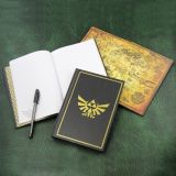 Libreta emblema Hyrule de Zelda