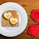 Molde Corazón para huevos duros