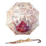 Paraguas estilo clásico Mapa del Merodeador, de Harry Potter