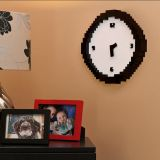 "Reloj retro de pared ""Pixel time"""