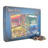 Puzzle 500pz Casas de Hogwarts Harry Potter