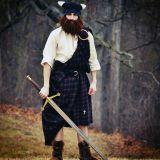 Gorro con barba Saqueador Vikingo