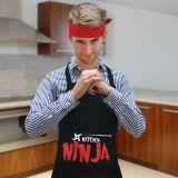 Delantal y cinta Ninja
