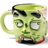Taza Cabeza de Zombie, de cerámica