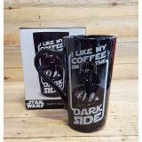 Taza latte Darth Vader: I like my coffee on the dark side