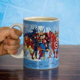Taza grande personajes Marvel Comics