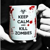 Taza Keep Calm And Kill Zombies