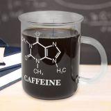 Taza Química molécula de cafeína