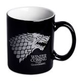 Taza negra Stark Winter is Coming