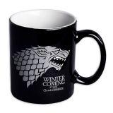 Taza negra Stark Winter is Coming