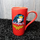 Taza latte Wonder Woman Clásica