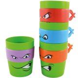 Tortugas Ninja, set de 4 tazas apilables