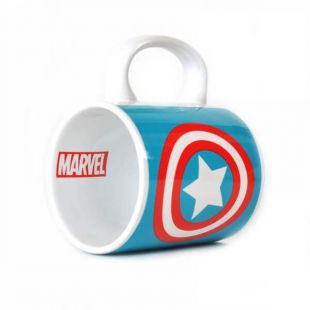 Taza Capitán América escudo, Marvel
