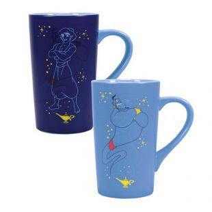Taza latte y termosensible del Genio de Aladdin, Disney