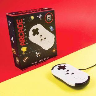Mando de videoconsola Plug & Play con 200 juegos