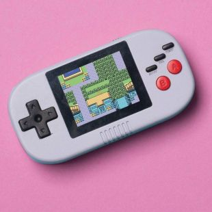 Mini consola arcade portable de mano
