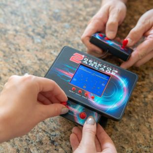 Mini consola Arcade retro para 2 jugadores