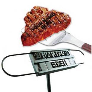 Hierro para marcar carne de barbacoa