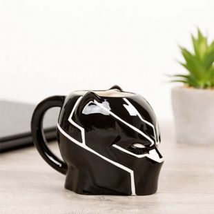 Taza 3D Black Panther de Marvel