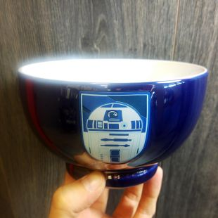 Bol metalizado R2D2 con relieve Star Wars