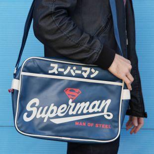 Bolsa bandolera Superman Japón retro