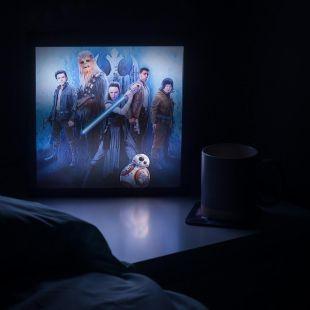 Caja luminosa 3D Last Jedi Star Wars