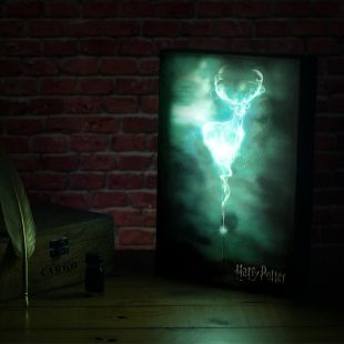 Caja luminosa Patronus Harry Potter